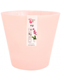 (099713) ING1558РЗПЕРЛ Горшок для цветов Фиджи Орхид D 160 мм/1,6 л розовый перламутр