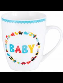 (098571) ПС0037-40 Кружка JEWEL Baby 360 мл (фарфор)