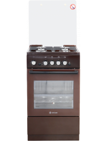 DeLuxe 5040.32г(кр) ЧР-014 (чугунные решётки) коричневая