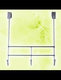 (105702) ВДЗ-250 Вешалка 3-х крючковая 250х300 хром зеркало
