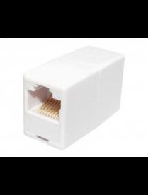 03-0101 Rexant Проходной адаптер муфта, RJ-45(8P-8C), UTP, категория 5e, (гнездо-гнездо)