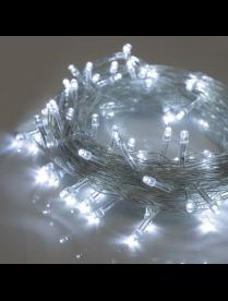 """3556780 Гирлянда """"Нить"""", 10 м , LED-100-220V, 8 режимов. прозрачная нить, свечение белое."""