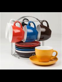 Набор чайный (12) предметов 250 мл. на мет. 922-6MS