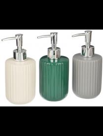 """Дозатор для жидкого мыла """"Вертикаль"""", керамика, 3 цвета VETTA 463-971"""