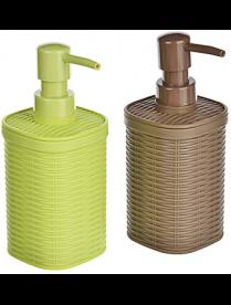 """Дозатор для жидкого мыла """"Роттанг"""", пластик, 2 цвета VETTA 463-983"""