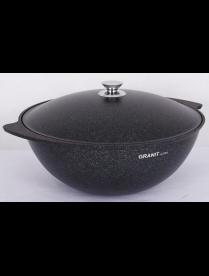 "(106760) кгг65а Казан для плова 6л, АП линия ""Granit ultra"" (blue) кгг65а"