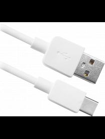 USB кабель USB08-01C AM-TypeC, белый, 1m, DEFENDER87495