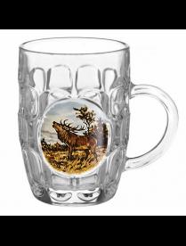 (104510) 1002/1-Д Кружка для пива 500 мл. арт.1002/1-Д (Охота) Подарочн.упа-вка Кружка для пива 500м