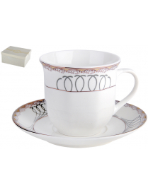 Набор чайный 1/2 Мэджик ф.ребристая 200мл п/уп NBJ02-G07