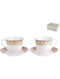 Набор чайный 2/4 Византия ф.классическая 200мл.п/уп NKY04-G03