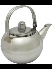 Чайник 0,8л. нерж заварник с ситечком под/упак AST-002-ЧС-08