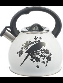 Чайник 2,5л со св. индук с декором/меняет цвет (Попугай) КТ-130А