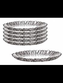 (078042) Набор тарелок Аврора 205мм 6шт 10512B