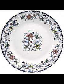(105867) YQ1717 Тарелка десертная 18см Флорис ф.круг