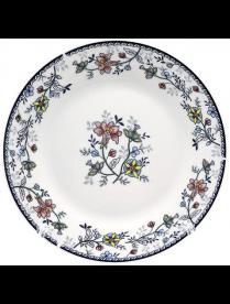 (105870) YQ1717 Тарелка десертная 20см Флорис ф.круг