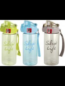 Бутылка для воды mix 3 color 4364