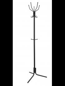 (105747) Вешалка напольная разборная цв.черный ВНП35