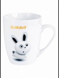 (098577) ПС0045-40 Кружка JEWEL Rabbit 360 мл (фарфор)
