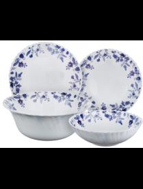 818-596 MILLIMI Таис Набор столовой посуды 19 пр., опаловое стекло, 17247