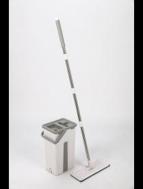Комплект для уборки: швабра и ведро для отжима Rosenberg R-800056