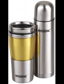 Rosenberg RSS-420103 Подарочный набор: термос 500мл и термокружка 450мл