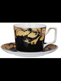 Набор чайный 12 пр.MILLIMI Император , 260мл, костяной фарфор 802-025