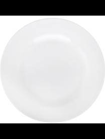 814-108 Тарелка мелкая 200 мм, белый, фарфор