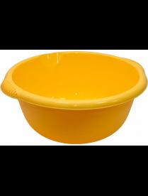 Таз 10,0л круглый Желтый М2506