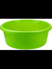 Таз 14,0л круглый ярко-зеленый М2514