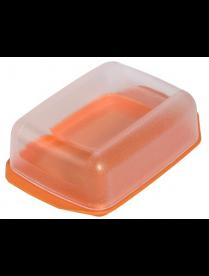 (006753) Масленка с прозрачной крышкой колор (21) С3К