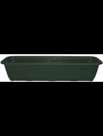 Балконный ящик 100см Ламела Зелёный М8613