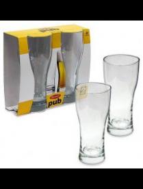 (014580) Набор бокалов PUB 2 шт. 300 мл (пиво) 42116B 42116Бор