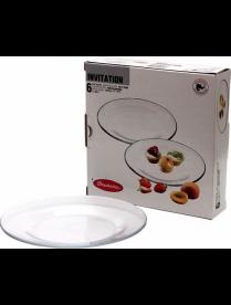 (028342) Набор тарелок Инвитейшн 200мм 6шт 10327(4) 10327Бор