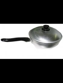 Сковорода 22см мет/кр. пл.р. алюминий МТ027 (С452)