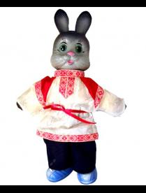 Фигурка Заяц в народном костюме
