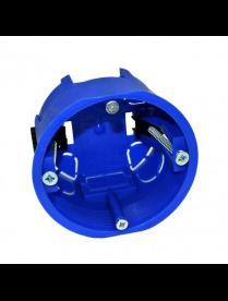 (006790) Коробка Gusi СЗЕЗ d=68 мм для полых стен, синий