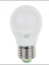 (090458) Лампа светодиодная LED-A60-standard 15Вт 160-260В Е27 3000К 1200Лм ASD 016.4007