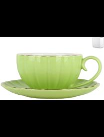 Набор чайный 1/2 Весенняя свежесть ф.круг 280мл ZL09782-4