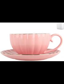Набор чайный 1/2 Нежность сакуры ф.круг 280мл ZL09782-3