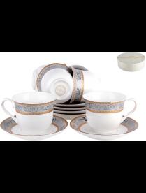 Набор чайный 6/12 Патио ф.классическая 200 мл, п/уп NKY12-G05
