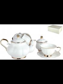 Набор чайный 6/14 Грация 250мл п/уп Y004-1(14PCS)