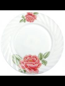 """(073531) Тарелка пл 9"""" 23см красная роза HP90#JLG042 HP90#JLG042"""