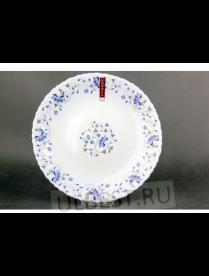 (080151) Тарелка плоская 24см 1059 синяя вуаль LHP95-1059 LHP95-1059