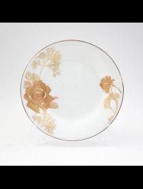 (057297) Тарелка суповая 21,5см Золотая роза GOP01-03