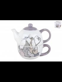 Набор чайный на 1 персону Идиллия ZF1124-11