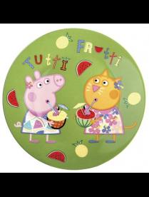 Тарелка 19см свинка Пеппа фрукты TPPPF TPPPF
