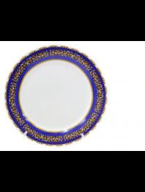 (085513) Тарелка десертная 19см2Восточная синяя YQ1600