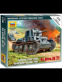 """Сборная модель """"Немецкий танк Т-38"""" 6130 530057 530057"""