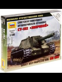 """Сборная модель """"Советская самоходная артиллерийская установка """"СУ-152"""" 6182 1414654 1414654"""