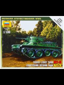 """Сборная модель """"Советский легкий танк Бт-5"""" 6129 1203931 1203931"""